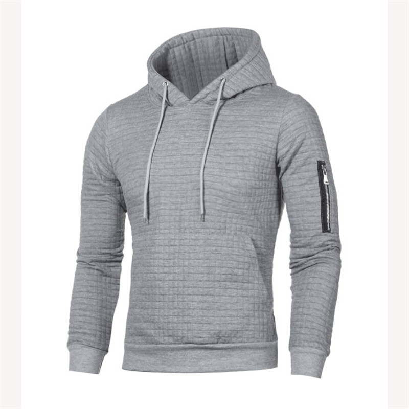 Hoodies Men 2019 Plus Size 4xl Male Long Sleeve Solid Lattice Hooded Sweatshirt Mens Hoodie Tracksuit Street Wear Clothing in Hoodies amp Sweatshirts from Men 39 s Clothing