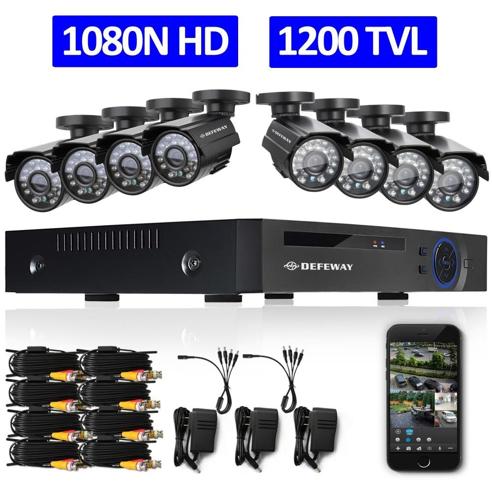 Система видеонаблюдения 8/hd 1080N