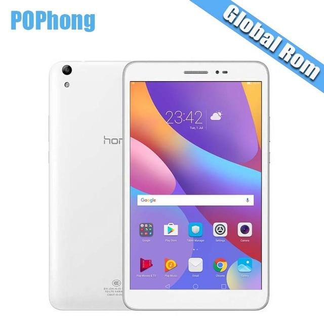 Глобальный ROM Huawei Honor Tablet 2 Wi-Fi 3 ГБ оперативной памяти 16 ГБ/32 ГБ ROM Android PC 8.0 дюймов 1920*1200 Snapdragon MSM8939 Восьмиядерный 8.0MP P