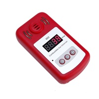Digital LED Display Combustible Gas Detector For Home Alarm System Personal Safe Flash Gas Sensor