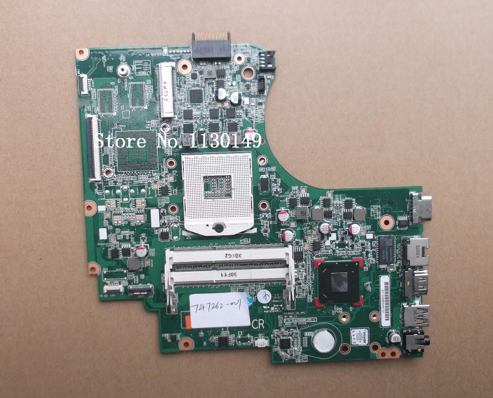 ФОТО 747262-501 Free shipping 747262-001 motherboard for HP Touchsmart 15-d laptop main board HD4000 J8E DDR3 100% tested