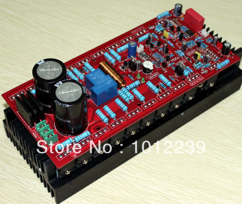 Assembled amplifier board 700W power amplifier board (without radiators)/DIY amp board зонты