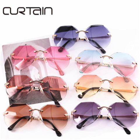 CURTAIN 2019 Newest Kids Sunglasses Cool Polygon Shaped Hexagon Fashion Baby Cute Girls Boys Eyewear Children Sun Glasses UV400 Pakistan