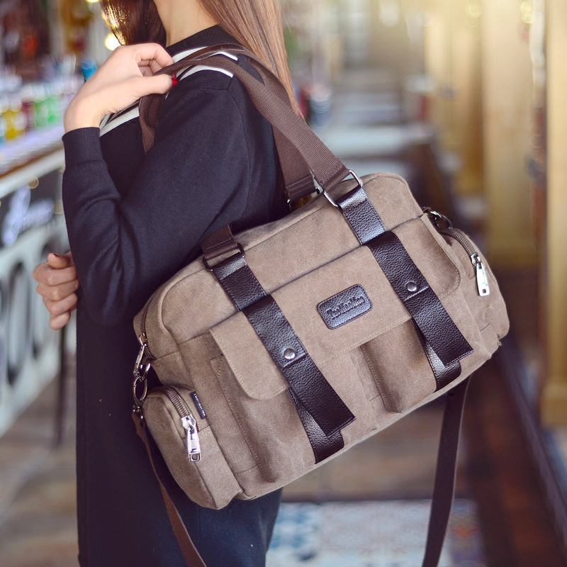 High Quality Canvas Frabics Women's Tote Bags Handbag 2016 New Fashion Shoulder Bag Vintage Women Hand Bags Large Messenger Bags