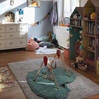 Kids Bady Soft Toys Sweat heat leaf blanket Cotton Crawl Mat kids baby Mats Toys Carpet 0 6 Years Bady Creeping mat