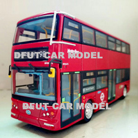 Diecast 1:64 Alloy Toy Car Model BYD K8S BUS of Children's Toy Cars Original Authorized Authentic Kids Toys