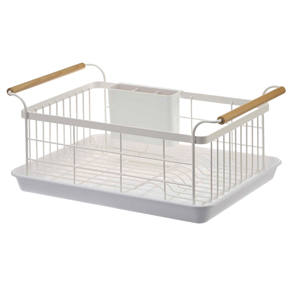 Iron Chrome Multifunction Bowl Plate Dish Cup Cutler Drainer Storage Shelf Rack Organizer Holder For Kitchen Storage Tool