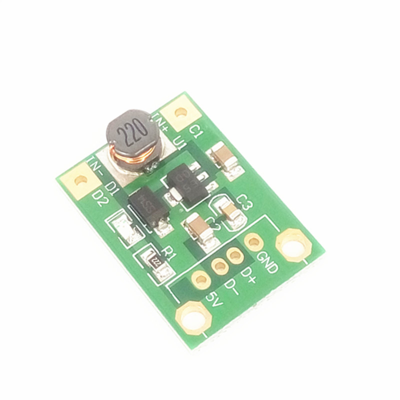 5pcs/lot A67 DC boost (1V-5V) rise 5V boost board 5V output without USB head mobile power supply