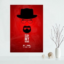 Nice BREAKING BAD Poster Custom Canvas Art Home Decoration Cloth Fabric Wall Print Silk