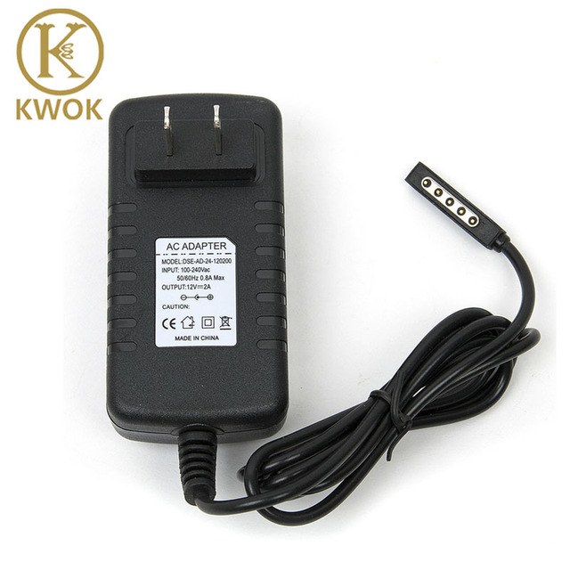 12V 2A AC Power Adapter US Wall Charger For Microsoft Surface Pro 2 Windows 8 RT RT2 106 Tablet PC 64GB 128GB 256GB 512GB