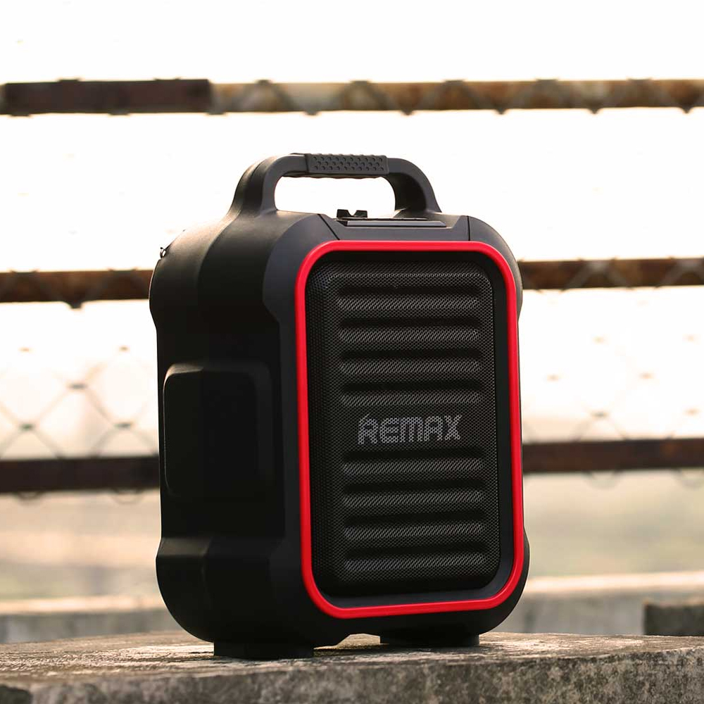 Remax Mic Hifi Bluetooth Speaker Manually Adjust The Eq Function 3d Type Rb M23 Series Grey Digital Sound Supports Multiple Audio Output Outdoor In Speakers From