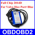 Super Full Chip for VOLVO DICE PRO+ Supports J2534 Protocol Also Fimware Update&Self-Test for VOLVO VIDA DICE 2014D Update by CD