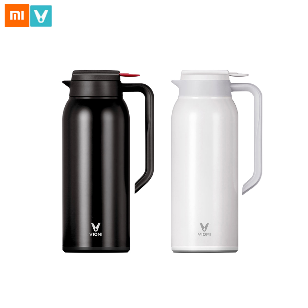 Xiaomi VIOMI 1500ML Thermos Bottle Stainless Steel Vacuum Cup Flask 24 Hours Thermos Insulation Pot Insulated Water Bottle household thermos pot 2l large capacity 304 stainless steel european vacuum insulation kettle cup thermos bottle