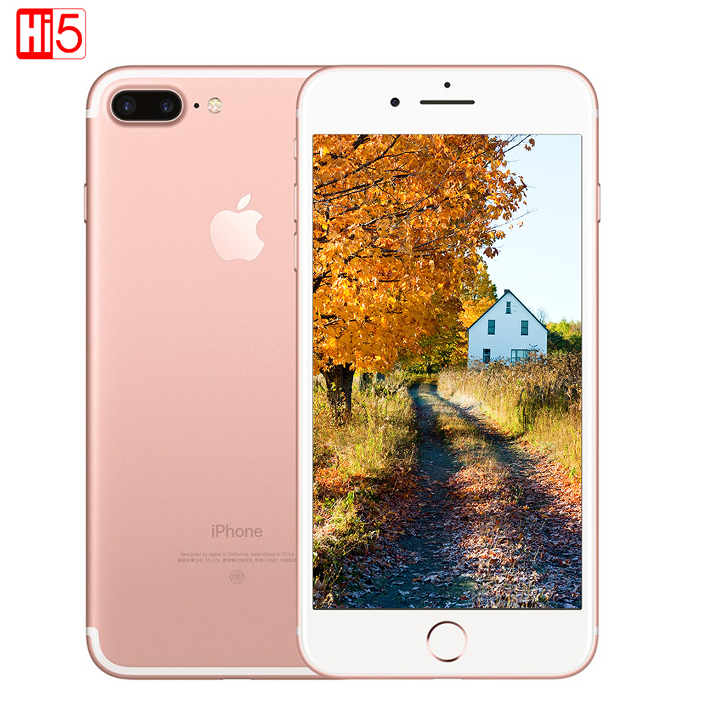 Déverrouillé Apple iPhone 7 Plus 3 GB RAM 32/128 GB/256 GB ROM Quad-Core D'empreintes Digitales 12MP IOS LTE 12.0MP Caméra Mobile téléphone smartphone