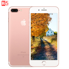 Neue original Apple iPhone 7 Plus 3 GB RAM 32/128 GB / 256 GB ROM Quad-Core Fingerabdruck 12MP IOS 10 LTE 12.0MP Kamera Handy