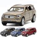 1:32 6 Двери Могут быть Открыты's GL500 Имитационная Модель Автомобиля мальчиков акустооптического Вытяните Назад Матовый Литья Под Давлением Металла Автомобилей Сплава Автомобиля Toys