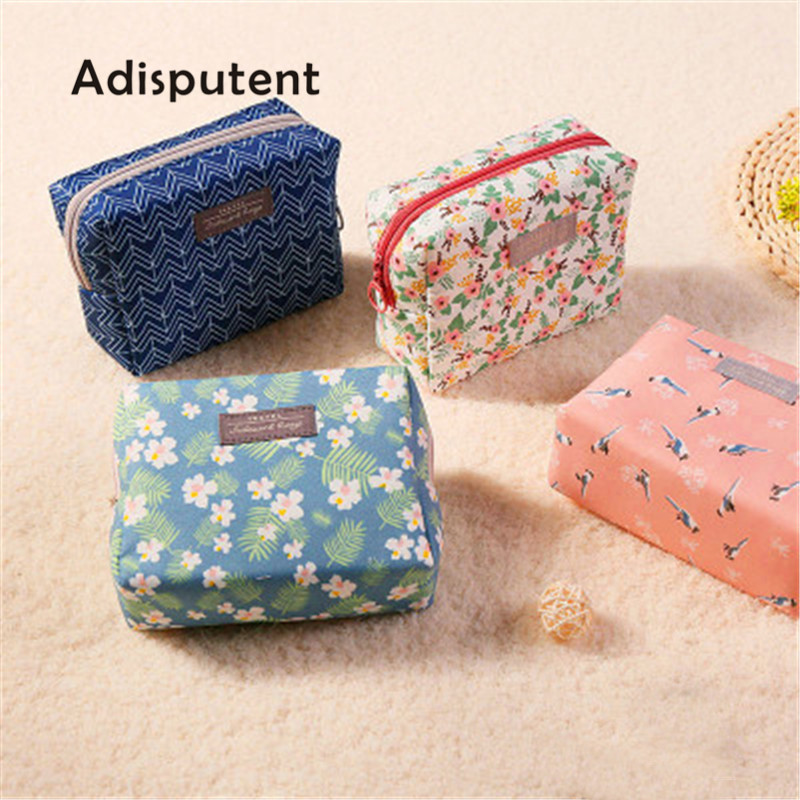 Bag-Organizer Pouch-Kit Purse Makeup-Pouch Toiletry Wash-Bag Cosmetic Travel Beauty Sweet