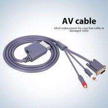 1.8M HD Connettore AV Audio Video Cavo VGA 2RCA Cavo del Convertitore Per Xbox 360 X   360
