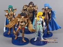 1set Saint Seiya PVC Action Figures Collection Toys Dolls B 5pcs set Free Shipping SYFG003