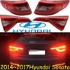 1pcs 2015~2017year tail light for Hyundai sonata  taillight car accessories LED DRL Taillamp for sonata fog light