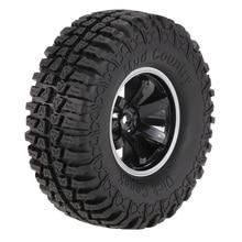 RC Rock Crawler 1/10 Scale Tires (4Pcs) AUSTAR AX-3020C with Wheel Rim