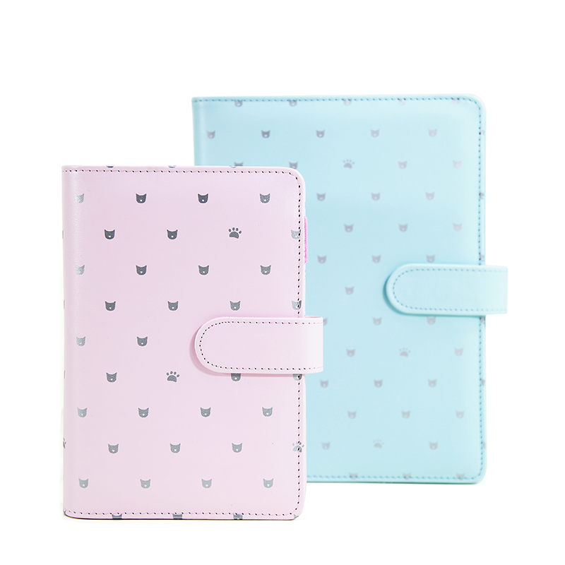 A5 / A6 fashion leather filofax office school supplies cuaderno traveler notebook personal agenda plan  notebook Stationery a5 retro scrub leather notebook filofax business notebook personal creative notebook office portable stationery supplies