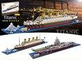 LOZ Bloques Diamond Titanic tamaño Pequeño DIY Juguetes de Construcción de Aviones Carier Subasta Figuras Juguetes Regalos Boy Kids Toy 9389-9390