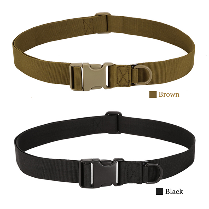 Outdoor Equipment Contracted Tactical Nylon font b Belt b font Cycling Camping Hunting Wear font b
