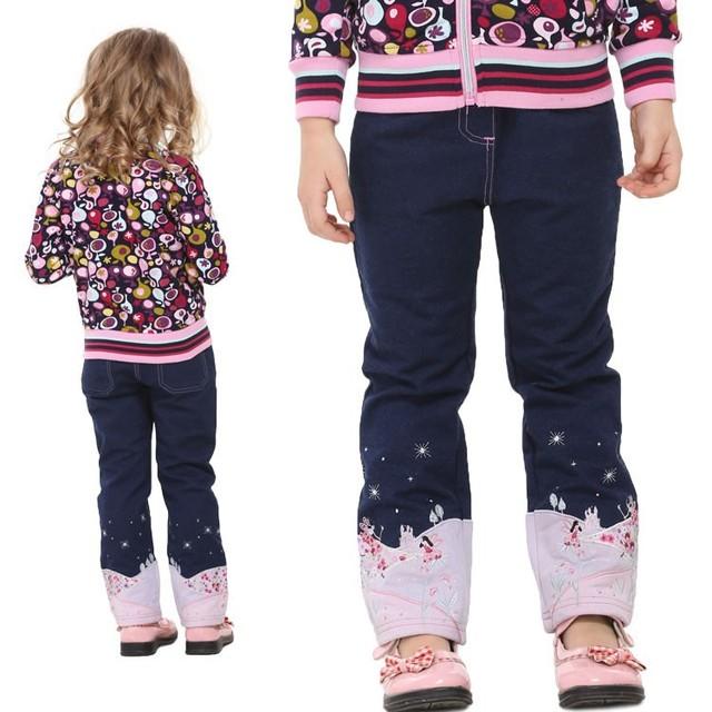 2-6 T azul marino niños jeans para niñas, ropa y accesorios de Todos los niños, pantalones y jeans, cal? como jeans infantil, ropa de bebé