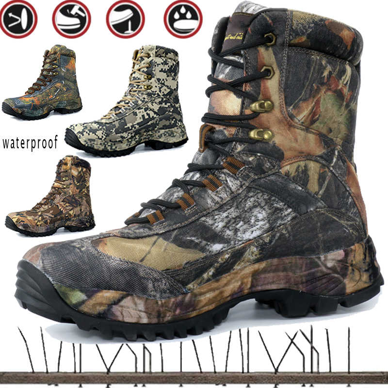 1c6e4cad66 Delta Tactical Boots Men Military Desert American Combat Boots Outdoor Shoes  Waterproof Wearable Hiking Boots