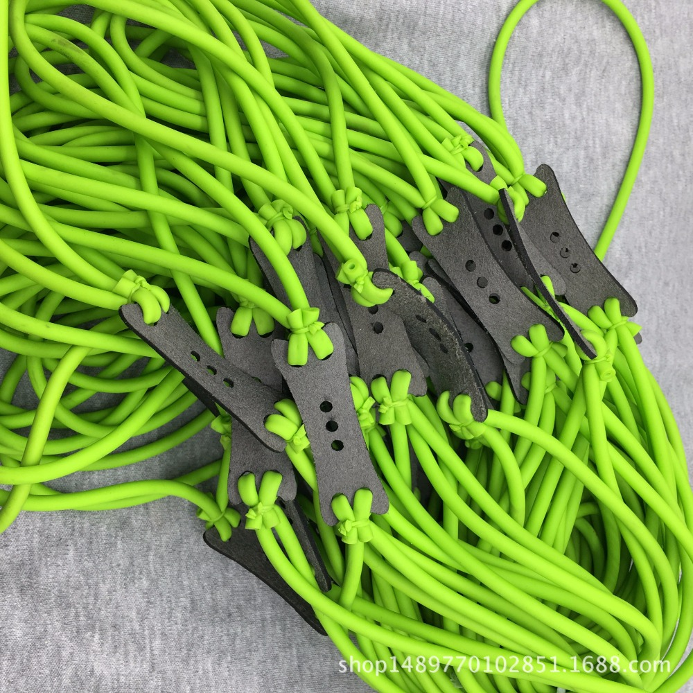 5pcs/lot Velocity Elastic Elastica Bungee Rubber Band for Slingshot Catapult Outdoor Hunting Shooting Slingshots Rubber