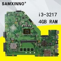 X550CC Motherboard REV 2.0 i3 4GB RAM For ASUS A550C R510C X550CC X550CL laptop Motherboard X550CA Mainboard X550CA Motherboard