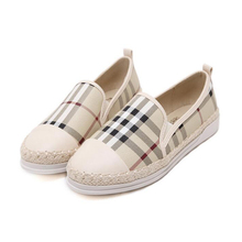 2016 Fashion Platform shoes Woman Loafers  Korea Round Toe Women Flats Shoes Slip on Braided Fisherman Shoes Woman Shoes z314
