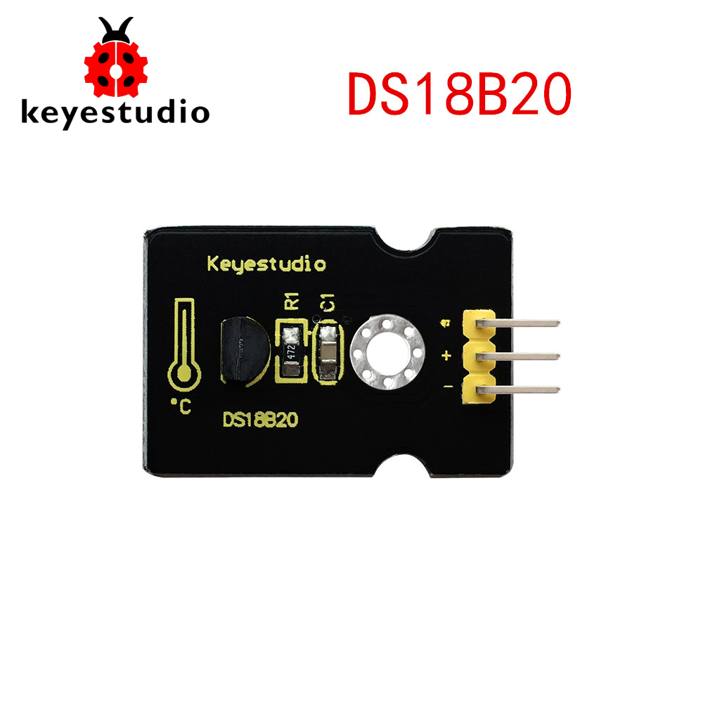 US $3 5 |Free shipping !Keyestudio DS18B20 Tem Sensor Module for Arduino  and Raspberry Pi-in Home Automation Modules from Consumer Electronics on