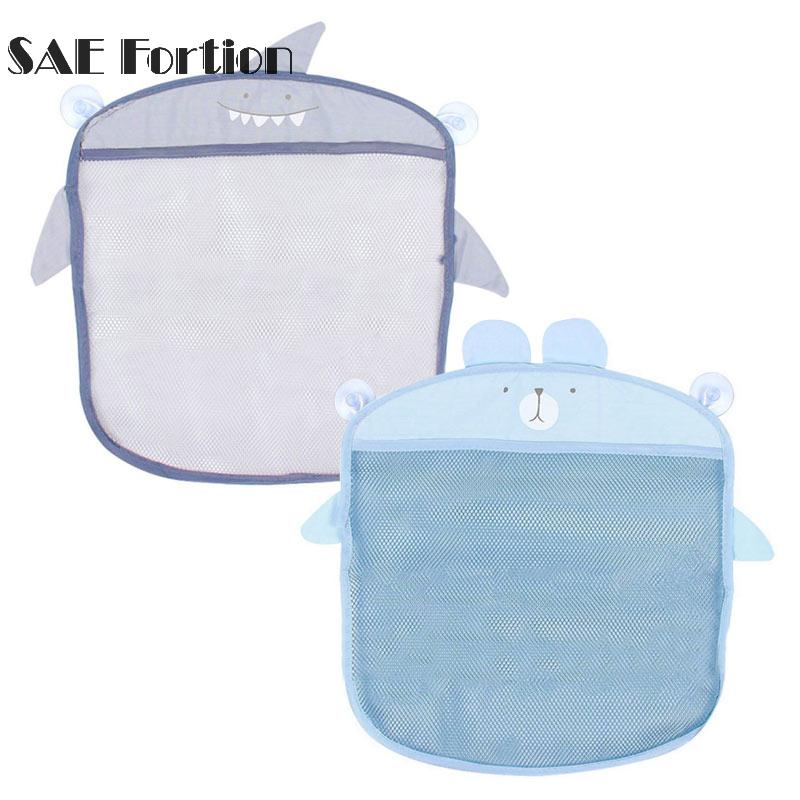 Fashion Baby Bath Toy Mesh Storage Bag Bathtub Doll Basket Organizer ...