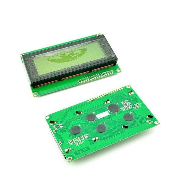 LCD 2004 Display Module 5V Yello Green Screen 20*4 LCD for Arduino Free Shipping