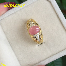 KJJEAXCMY Fine jewelry 925 silver inlaid multicolor Rhodochrosite female ring wholesale and retail 2014 wholesale and retail geowoodstock xii peace and friendship pathtag geocoin alternative coin hl50216
