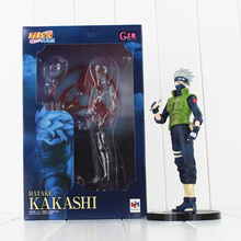 Anime Naruto Hatake Kakashi PVC Action Figure Collectible Model Toy 23cm doll juguetes brinquedos freeshipping hot sale