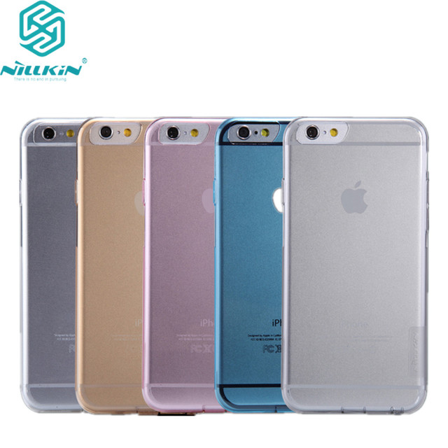 new concept ebbc4 4971a US $6.19 |For Apple iPhone 6 Case Nillkin Nature Series Transparent Clear  Soft TPU Case for iPhone 6s iphone 6 Soft case 4.7 inch-in Fitted Cases  from ...