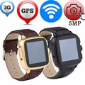 Android Smart Watch Phone GPS WIFI A9 Camera Heart Rate Monitor Support SIM SD Card Bluetooth Wristwatch MP3 Inteligente Pulso