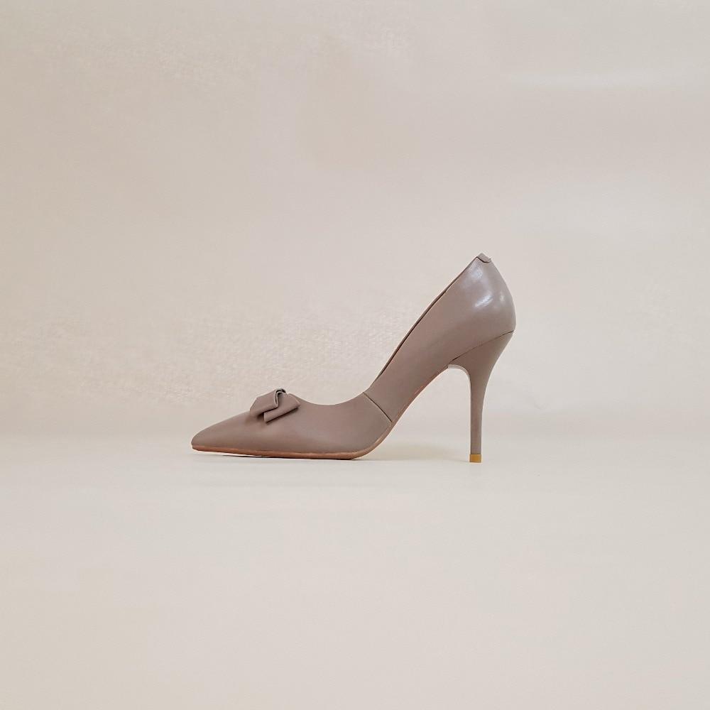 7cm Partido 7cm Gray Las Zapatos Black Thin Gray 10cm Gris Altos Mujeres Black Spike Sanlume Otoño nudo Stiletto Mariposa De Bombas Señoras 10cm Tacones Mujer Extrema wBqCpU6Hn