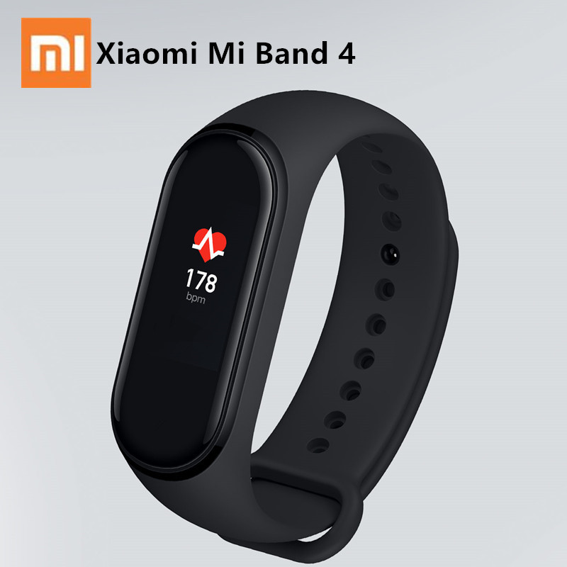 2019 Xiaomi Mi Band 4 Smart Wristband Mi Band 3 Fitness Heart Rate Swim Sport Smart Bracelet 0.95 Color Screen Bluetooth 5.0 image