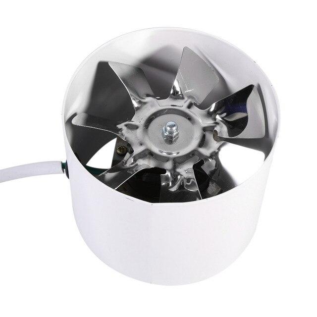 2800R/Min Fan Egzoz Havalandırma Kanalı Fanı 50Hz 20 W Havalandırma Metal Bıçak Fan Kapalı Havalandırma Fan Aksesuarları 9.7x7.7 cm