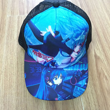 Anime Hatsune Miku Sun Cap Casual Summer Peaked Snapback High Quality Mesh Hat for Boys or Girls of Gift