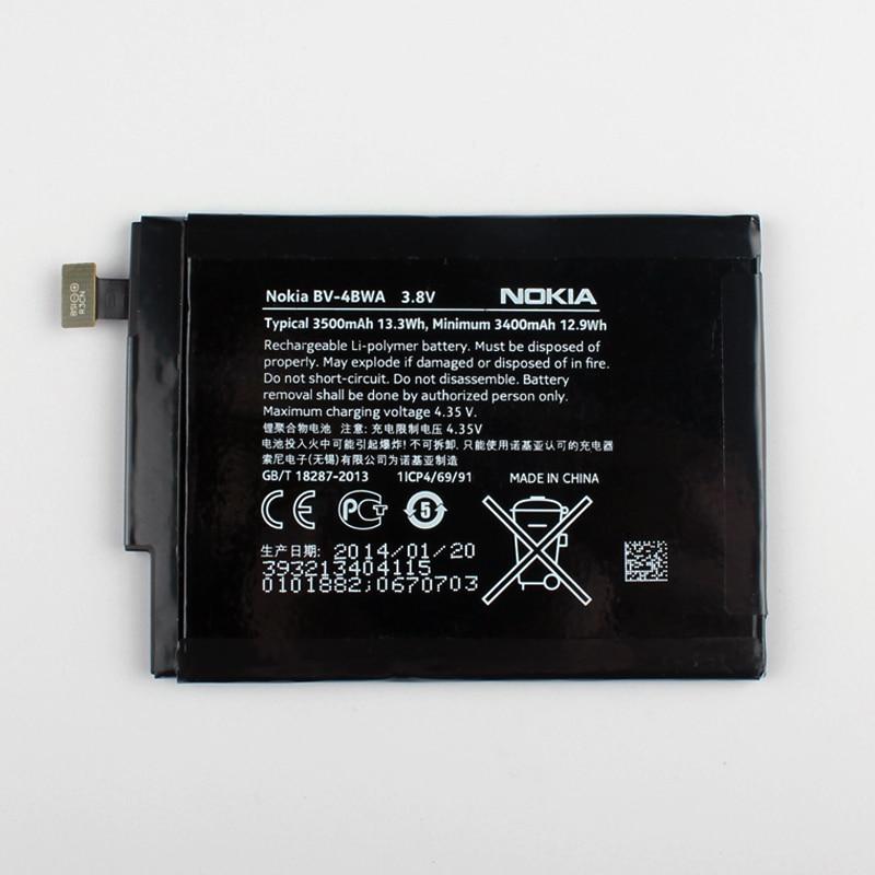 New Original Nokia BV-4BWA téléphone batterie pour Nokia Lumia 1320 Intégré BV4BWA 3500 mAh