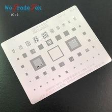 IC Chip BGA Reballing Stencil Kit Solder