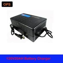 OPS Lead Acid Battery Charger 120V 20AH 12AH-14AH For Electric Bike Bicyle  Scooters DC100-240V Output 147V 2.5-3A  Volt