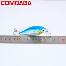 1pcs Crankbait Wobblers Hard Fishing Tackle 13g 7cm Swim bait Crank Bait Bass Fishing Lures 5 Colors fishing tackle