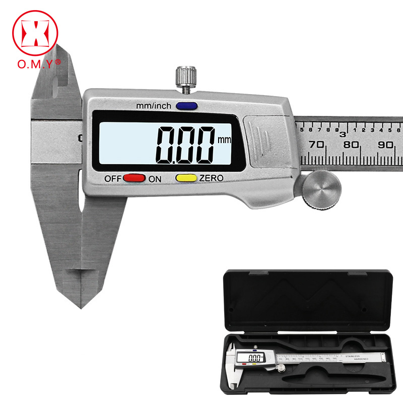 Measuring Tool Stainless Steel Digital Caliper Messschieber Paquimetro 6 150mm Measuring Instrument Vernier CalipersMeasuring Tool Stainless Steel Digital Caliper Messschieber Paquimetro 6 150mm Measuring Instrument Vernier Calipers
