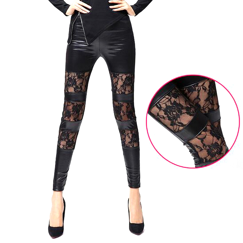 Online Get Cheap Stretch Leather Leggings Sale -Aliexpress.com ...